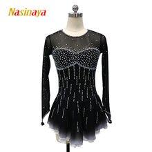 Платье nasinaya для фигурного катания индивидуальное соревнование