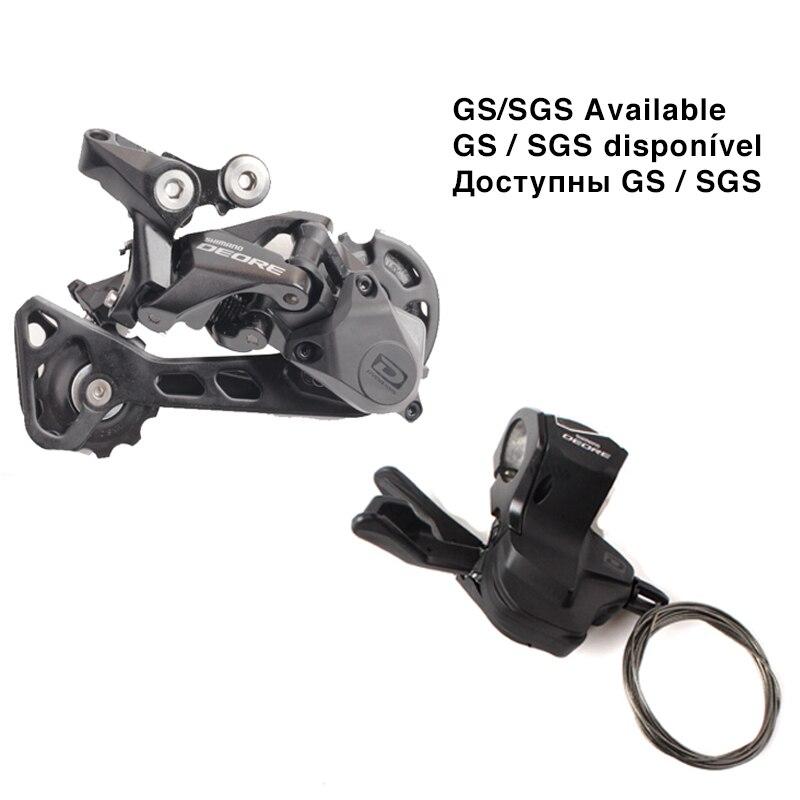 SHIMANO DEORE M6000 1x10 10 s Vitesse Droit Shifter Levier avec 42 t/36 t SGS/ GS Dérailleur Arrière VTT Accessoires Vélo