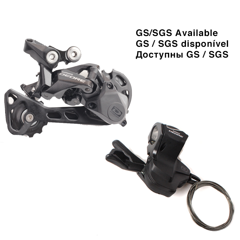 SHIMANO DEORE M6000 1x10 10S Speed Right Shifter Lever with 42T/36T SGS/GS Rear Derailleur MTB Bicycle Accessories