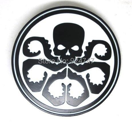 Hail Hydra kapitán americká rudá lebka s přezkou