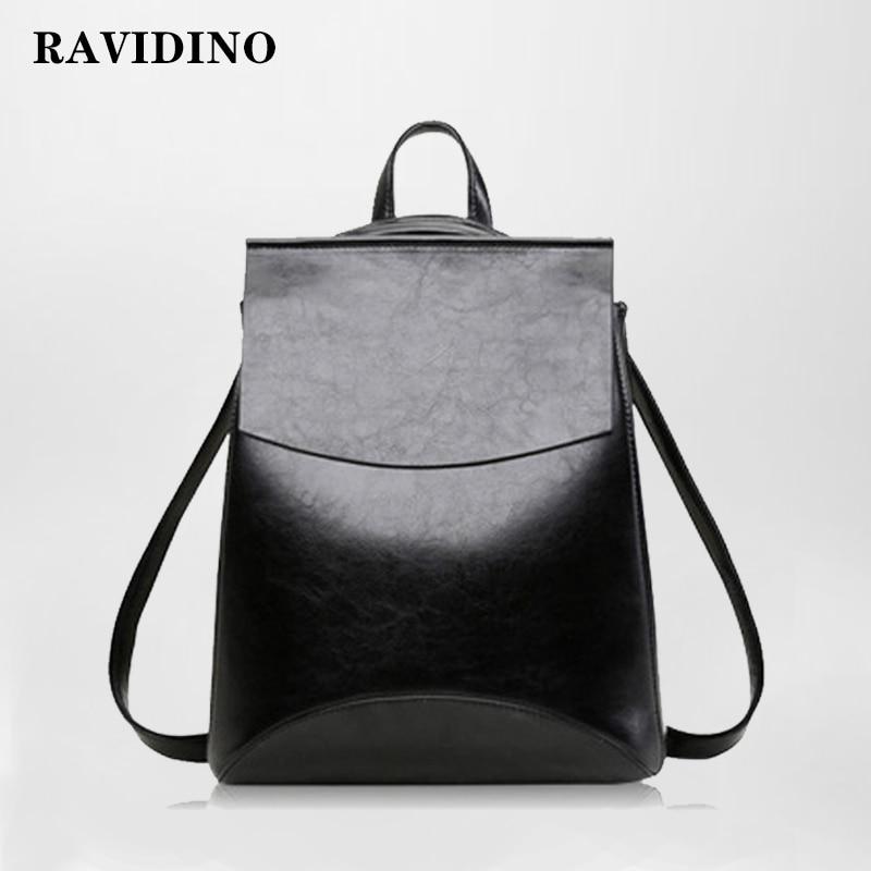 2019 HOT Fashion Women Backpack High Quality PU Leather Backpacks For Teenage Girls Female School Shoulder Bag Bagpack