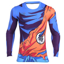 Mannen Classic Anime Dragon Ball Z Super Saiyan font b Goku b font Vegeta 3d t