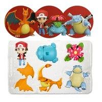 High Quality Pikachu Action Figure Kids Toys Kawaii Birthday Christmas Gifts