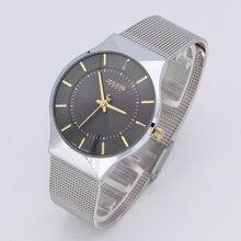 4 Colors Thin Men s Watch Japan Quartz Hours Business Fashion Dress Stainless Steel Bracelet Boy