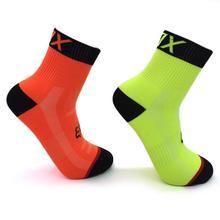 Дышащие носки для велоспорта, впитывающие Защитные носки для ног, для улицы, для бега, альпинизма, для шоссейного велосипеда, нейлоновые носки для велоспорта, для мужчин
