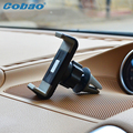 Cobao teléfono inteligente universal adlustable car air vent mount holder soporte para teléfono soporte para iphone 5s 6 6 s plus galaxy s4 s5 s6 s7