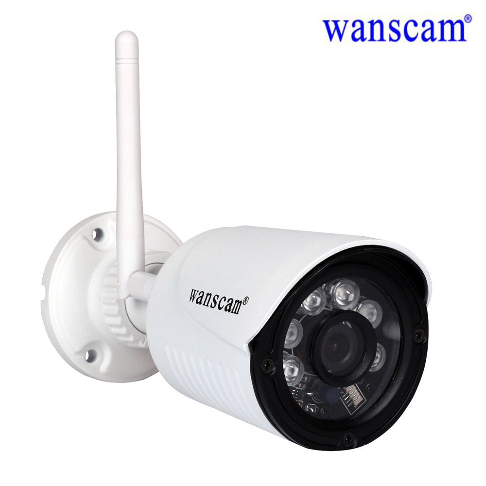 Wanscam 1080P Full HD WiFi Surveillance Camera Wireless Security IP Camera Outdoor Waterproof Night Vision Support SD TF Memory wanscam hot sale model 720p hd outdoor waterproof ip camera bullet camera with 1megapixel support sd card recording