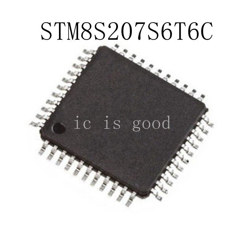 5PCS STM8S207S6T6 STM8S207S6T6C QFP 44