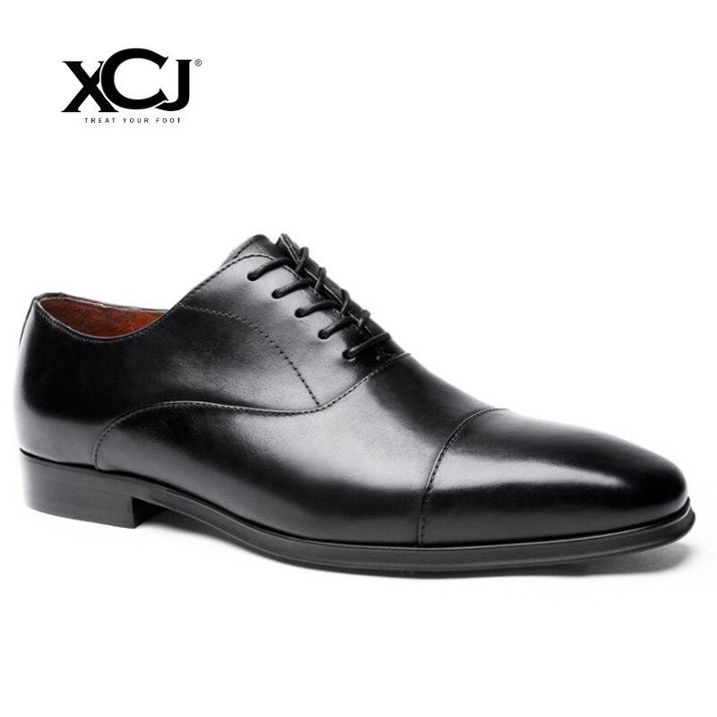 Men Dress Shoes Men Business Shoes Spring Autumn Plus Big Size 46 47 Brand Gentleman PU Brogue Shoes Men Formal Shoes XCJ цена