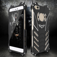 Mi5S Case Luxury Aluminum Metal Case Cover For Xiaomi Mi 5S Mi5s Plus Case Bat Man Iron Man Fundas Coque Stand Phone Accessories