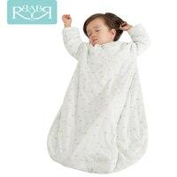 Babyruler 2Colors Cotton Baby Children Soft Sleeping Bag Christmas Pajamas Oonesie Kids Super Thick In Winter Sleepsack Swaddle