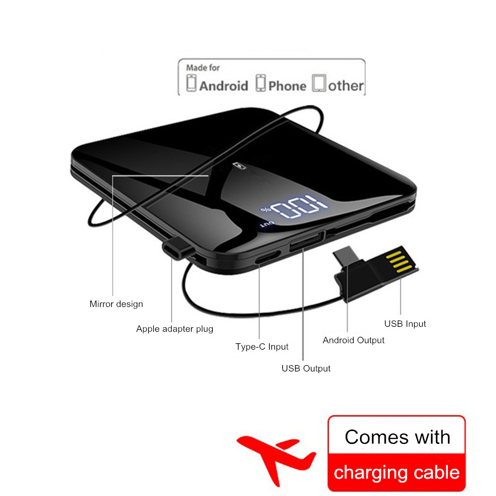 NTSPACE-8000mAh-Mirror-Aluminium-Mini-Power-Bank-2-0A-Quick-Charger-Powerbank-Dual-USB-Fast-Charging (3)