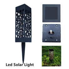 лучшая цена Led Solar Light For Garden Decoration Lawn Lamp Outdoor Home Pathway Bulb Light Sensor Waterproof Solar Street Lamp Solar Lights