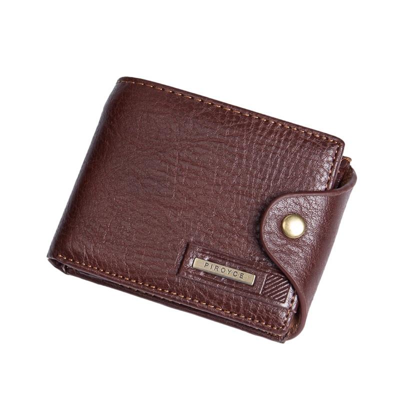 LEBOLONG Wallets for Men with Pocket Wallet PU Leather Pocket