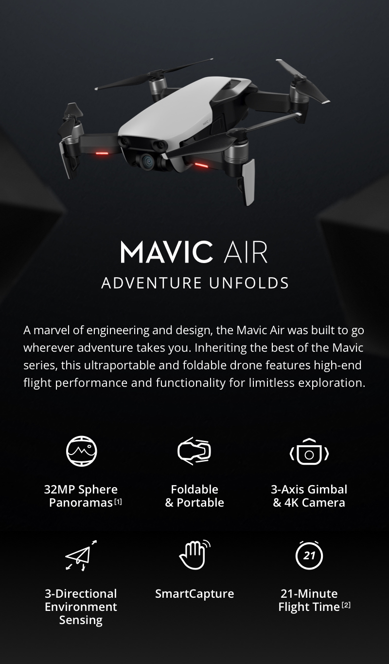 Mavic features