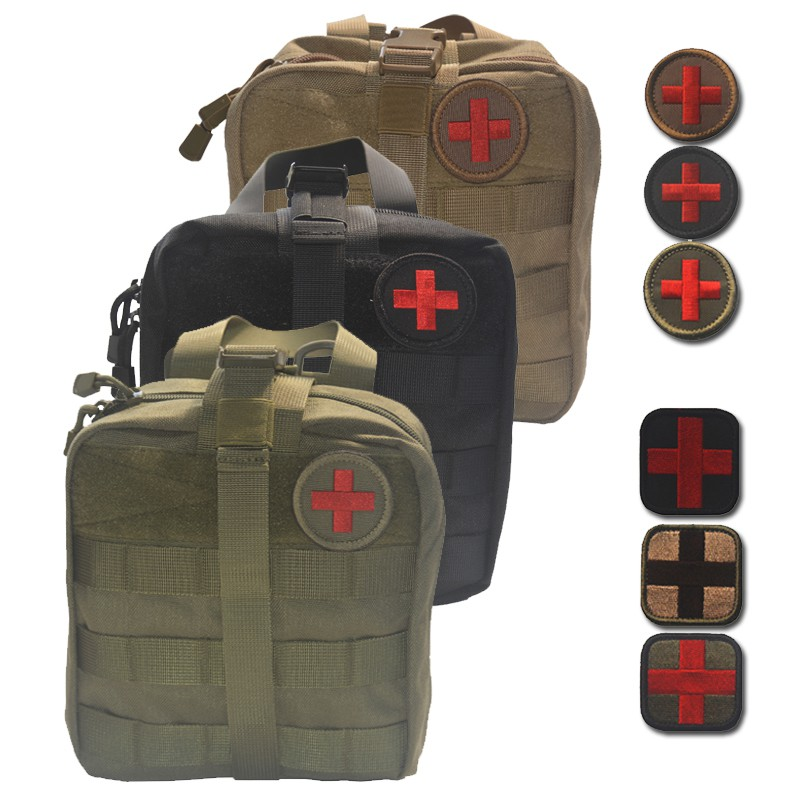 Passionated Life First Aid Bag Outdoor Suvial Medical Military Utility Pouch Rescue Package For Travel Hunting Hiking