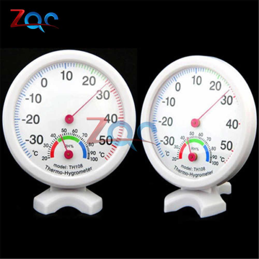 Mini digital lcd termômetro higrômetro, geladeira, congelador, temperatura, medidor de umidade, detector, instrumentos de medição, interno th108