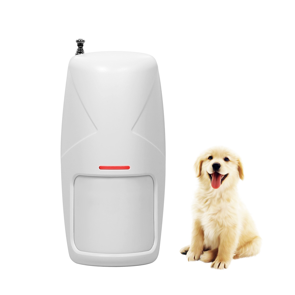 433MHz Wireless Anti-pet Immune Movement Motion PIR Detector Infrared detector for Gsm Wifi Home Security Alarm System 10KG 433 mhz wireless 10kg pet friendly motion pir detector infrared detector for home security alarm system