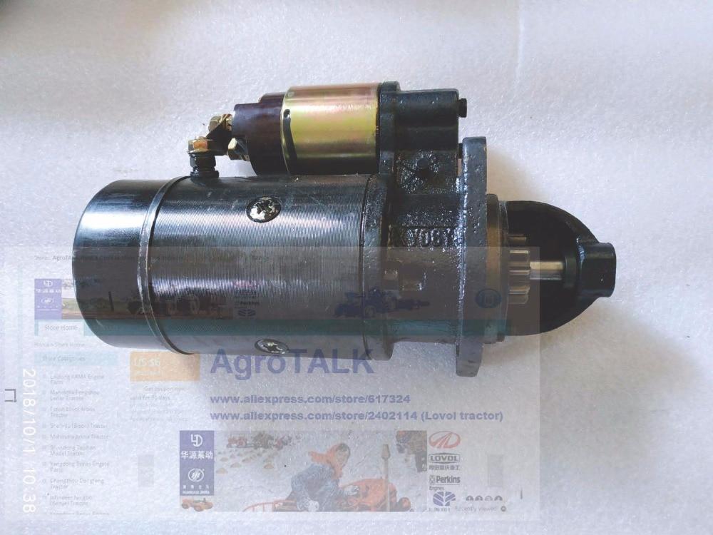 Changchai ZN480Q, the starter motor, part number: CZ480Q-300000 fengshou estate 180 184 the cylinder head hood part number j285 01 301a