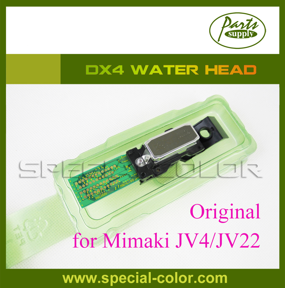 Hot sale ! Mimaki JV4/JV22 printer head DX4 water based Printhead (Get 2pcs DX4 Small Damper free) fast shipping time by dhl hot sale printhead dx4 for roland eco printer