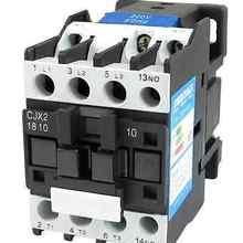 CJX2-1810 LC1 контактор переменного тока 18A 3 фазы 3-полюсный без катушки Напряжение 380V 220V 110V 36V 24V 50/60Hz Din рейка крепление 3 P+ 1NO нормально открытый