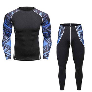 2017 men pro fitness skulls compression sets quick dry legging top workout train exercise long pant.jpg 350x350