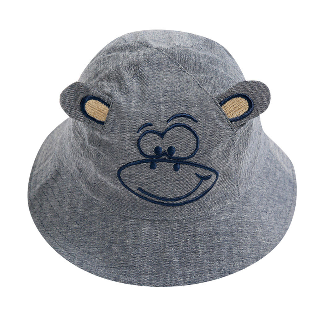 Accessories Arloneetbaby Soft Cotton Summer Cartoon Print Beach Hat Infant Newborn Bucket Hat Toddler Kids Cap Boys Girls Sun Protection Hat Ture 100% Guarantee Hats & Caps