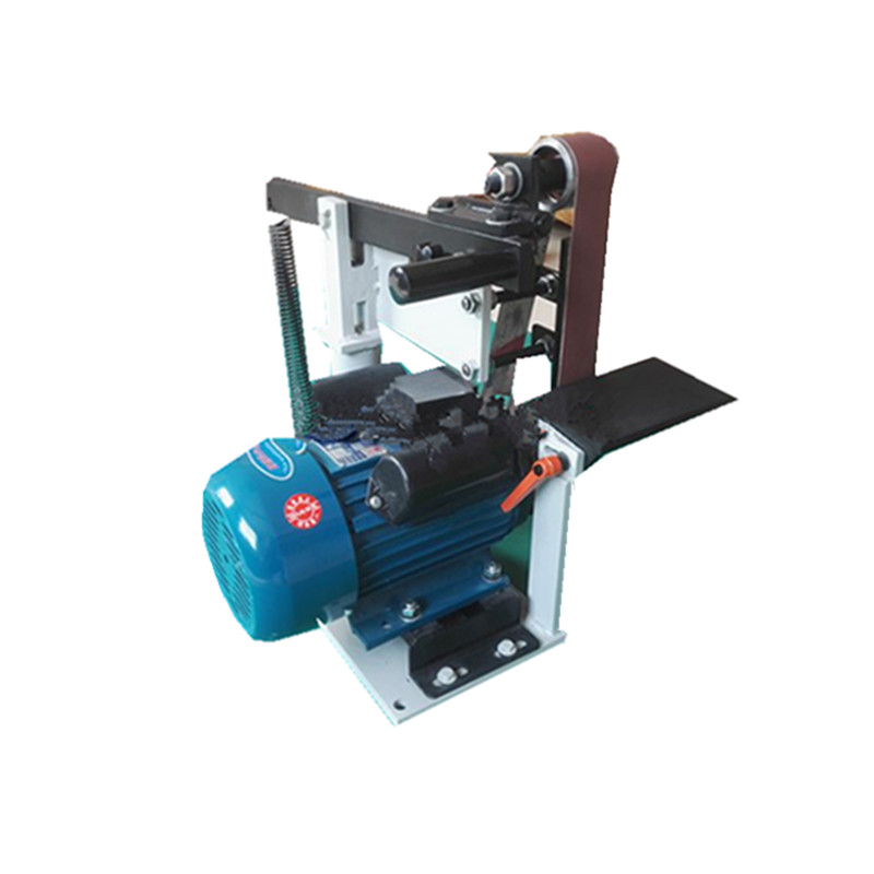 Belt Sander Machine Metalworking Grinding Speed Regulation