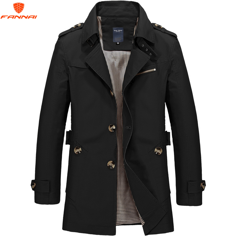 Jacket Men Coat Windbreakers Autumn Winter Spring-Uniform Casual Men's