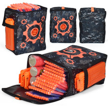 Oxford Cloth Target Pattern Shooting Practice Bag Soft Bullet for Nerf Camouflage