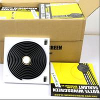 Black Snake Butyl Synthetic Rubber Glue car Headlight Headlamp Retrofit Speaker Windscreen Adhersive Sealant 9.5mm *4.57M
