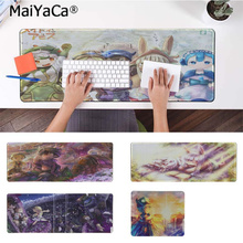 лучшая цена MaiYaCa Pad Made In Abyss Anime Customized MousePads Computer Laptop Anime Mouse Mat Free Shipping Large Mouse Pad Keyboards Mat