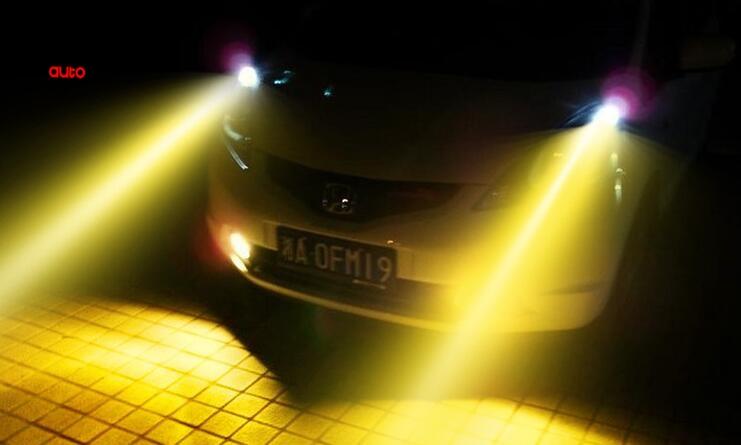 2 x H11 HOD 12V 3000K 100W Galben Auriu Auto Becuri Halogene Becuri - Faruri auto - Fotografie 4