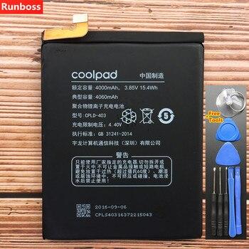 Batterie originale de haute qualité CPLD-403 4100 mAh pour Letv LeEco Coolpad Cool1 Cool 1 double C106 C106-7 C106-9 Batteries de téléphone portable
