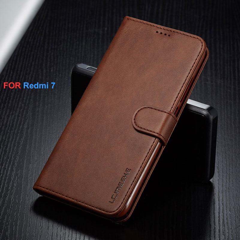 Fall Für Xiaomi Redmi 7 Abdeckung Leder Geschützt Telefon Fällen Redmi 7 Silicon Flip Abdeckung Für Telefon Xiaomi Redmi 7 Fall Brieftasche Taschen