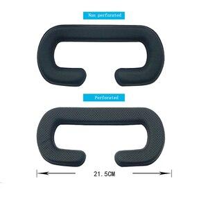 Image 4 - Für HTC vive/pro VR Speicher Gesicht Schaum Ersatz. Komfortable Pu Leder Kissen Pad, Erhöht FOV. 10*210*110mm