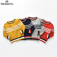 Hot Sale Boys Sweater 2018 Autumn Brand Design Wool Knitted Pullover Cardigan For Baby Girls Children