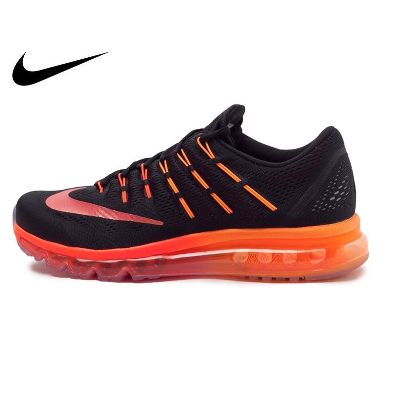 Chaussures de course colorées pour hommes NIKE AIR MAX authentiques originales avec rembourrage de paume entière confortable respirant athlétique