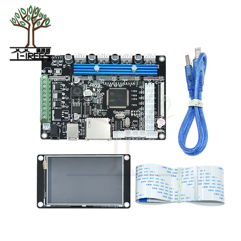 STM32 MKS Robin integrated mainboard controller motherboard with TFT32 v3.5 touch screen 3d printer part parts starter kit gift