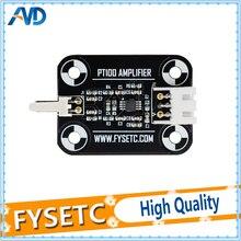 Siyah V6 PT100 Amplifikatör Kurulu PT100 Sensörü Yüksek Doğruluk Sıcaklık Kurulu Yükseltme Amplifikatör Kurulu 3D yazıcı Parçası