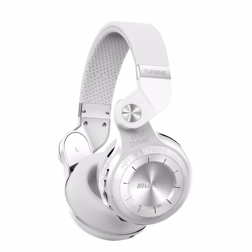 Orignal Bluedio T2+ foldable over the ear bluetooth headphones BT 4.1 FM radio& SD card function Music&phone calls free shipping