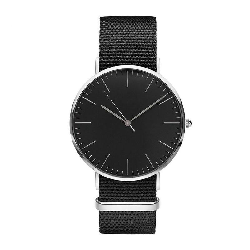 Nowa moda 18 MM nylon pas kobiet zegarek business casual marka - Zegarki damskie - Zdjęcie 5