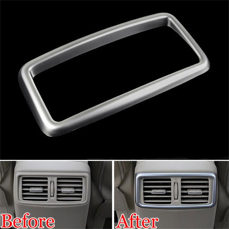 3PC For Nissan Rogue 2014-2019 ABS Interior Air Condition Vent Outlet Cover Trim