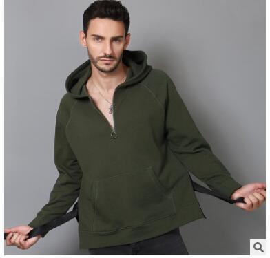 Новая Осенняя мода отбеленные мужские европейские и американские мужские с капюшоном мужская одежда классические брюки wholesaleSD113