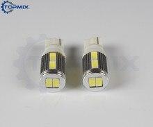 10 x T10 10SMD 5630 Auto LED Externe Innen Keine objektiv Gepäck Fach Tür Lesen Dome Seite Blinker Lichter weiß