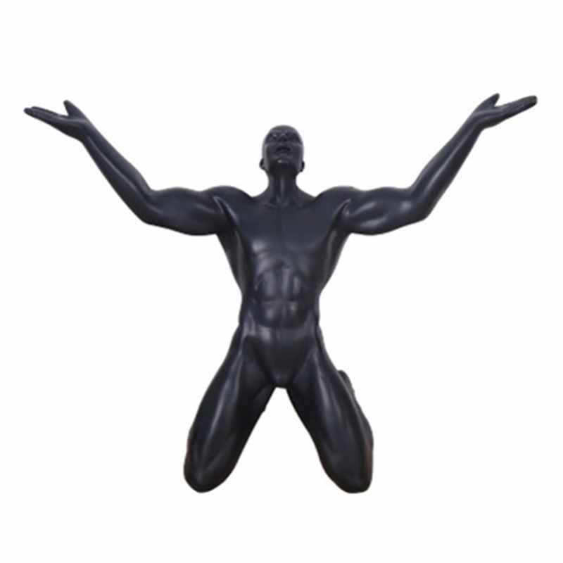 Nordic Creative Retro Statue Shouter Modern Art Craft Resin Home Decoration Action Figure Collectible Model Toy Gift 277