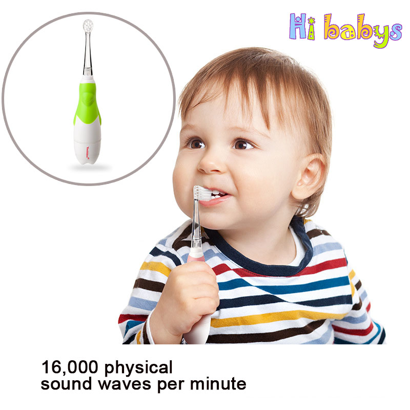 Electric Tooth Brush Baby Kids Teether Training Toothbrushes Silicone Ultrasonic Vibrating Clean Baby Oral Hygiene Waterproof