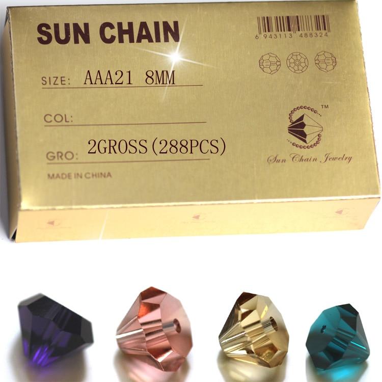 3c044aa2 AAA21-1 Cristal Tallado Torre perlas shinning componentes de la joyería al por  mayor 8mm Accesorios