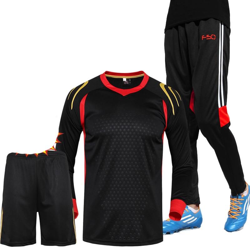 3-in-1 voetbal (jersey + korte broek + broek) Herfst Winter - Sportkleding en accessoires