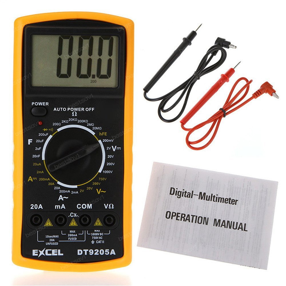 Multimeter DT9025A Multimetro diagnostic-tool good quality Individually wrapped Tester Meter Digital Multimeter